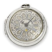 Pocket watch: interesting and rare German pocket watch with...
