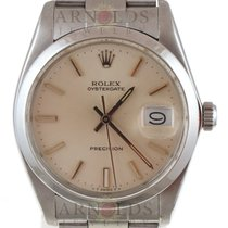 Rolex 1983 Gnts Oyster Precision Model 6694 Silver Dial
