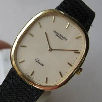 Patek Philippe Golden Ellipse Ref. 3838 18k Gold Quartz Watch