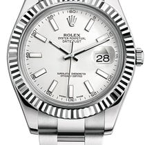Rolex Datejust 41mm Steel and White Gold 116334