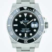 Rolex Submariner, 116610, Stainless Steel, Black Ceramic...