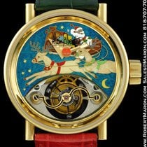 Alain Silberstein Tourbillon Cloisonne Piece Unique 18k