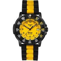 Traser H3 Lady Diver mit Silikonband schwarz/gelb P6574.E30.5K.05