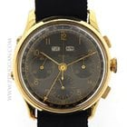Doxa 18k yellow gold vintage 1950's Triple Date Chronograph
