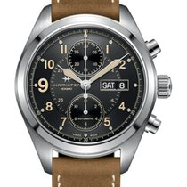 Hamilton KHAKI FIELD AUTO CHRONO 42MM VINTAGE NEW  H71616535