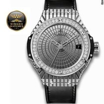 Hublot - Big Bang acciaio Caviar Diamanti