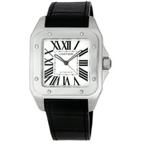 Cartier Santos 100 Steel Automatic Watch