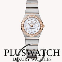 Omega Constellation Quartz 24mm Mother-Of-Pearl
