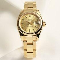 Ρολεξ (Rolex) Lady DateJust 179168 18k Yellow Gold