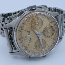 Wakmann vintage chronograph Valjoux 72c anonymous dial