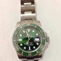 Rolex Submariner Date Hulk Green 40mm Steel 116610LV