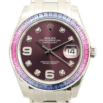勞力士 (Rolex) Lady Oyster Perpetual 18k White Gold Purple...
