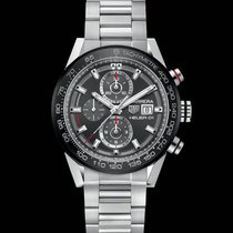 TAG Heuer Carrera Calibre HEUER 01 Chronograph Data  CAR201WBA...