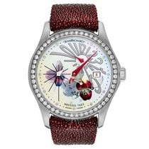 JeanRichard Women's Bressel Flying Hands Watch