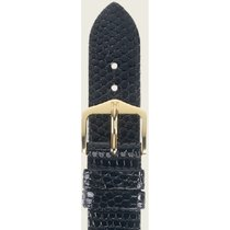Hirsch Lizard schwarz M 01766150-1-18 18mm