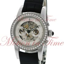 Girard Perregaux Ladies Small Chronograph, Silver Skeleton...