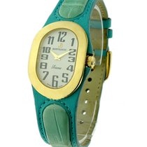 Bertolucci 313.68.037 Serena in Yellow Gold - on Green Strap...