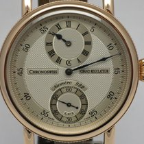 "Chronoswiss ""Grand Régulateur"" 44mm. 18K gold case...."