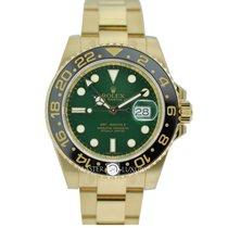 勞力士 (Rolex) 116718LN GMT Master ll Green Dial Yellow Gold