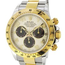 Rolex Oyster Perpetual Daytona Gold/SS 116523, Panda Dial,...