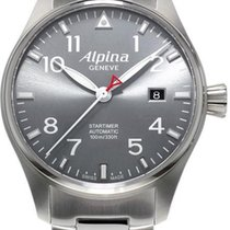 Alpina Geneve Startimer Automatic AL-525G3S6B Herren Automatik...