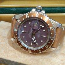 """롤렉스 (Rolex) Vintage GMT-Master 18k Gold """"Nipple Dial"""""""