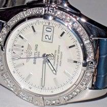 Breitling Chronomat Cockpit Mother Of Pearl Diamond