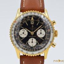Breitling Vintage Navitimer 806 Plated Gold Venus 178 Gilt Dial
