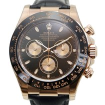 Rolex Daytona 18k Rose Gold Dark Brown Automatic 116515LNBK