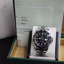 Rolex Collectible GMT  Master 16750 Rare Black Spider Web Dial