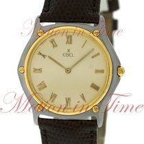 Ebel 1911 Men's, Ivory Dial - Yellow Gold & Steel on...