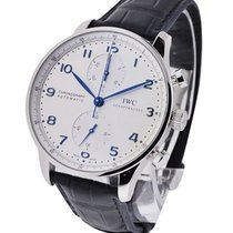 IWC IW371446 Portuguese Chrono Automatic on Deployant Buckle -...