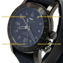 Glycine Airman DC-4 Mystery Black PVD 42mm GMT