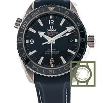 Omega Seamaster Planet Ocean Co Axial 43,5 blue leather