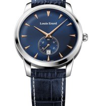 Louis Erard HERITAGE CLOCK FACE BLUE 16930AA15