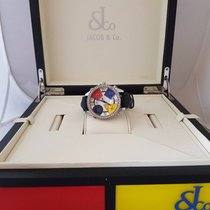 Jacob & Co. Five Time Zone - 40mm 2.00ct Bezel