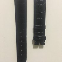 Corum Shiny Black Alligator Strap (18.5mm)