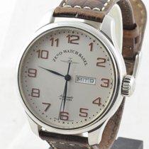 Zeno-Watch Basel Automatik Herren Uhr Day Date 44mm Top...