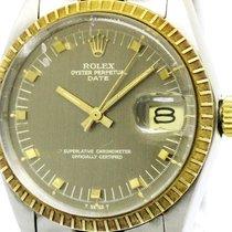 ロレックス (Rolex) Oyster Perpetual Date 1505 Gold Steel Automatic...