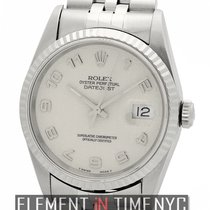 Rolex Datejust 36mm Stainless Steel Silver Jubilee Dial