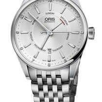 Oris Artix Pointer Day, Date, Steel Bracelet