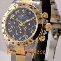 Rolex Daytona Steel/ 18K Yellow Gold Blue Arabic