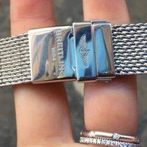 "Breitling Bracelet Bracciale strap steel acciaio ""maglia..."