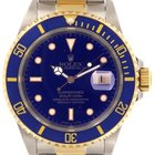 Rolex Submariner 16613 Yellow Gold And Steel,40 Mm