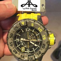 Richard Mille RM 028 AUTOMATIC DIVER'S YELLOW DIAL WATCH...