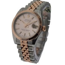 Rolex Unworn 178271rosestick Mid Size Steel and Rose Gold...