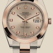 Rolex Datejust  41mm Steel and Everose Gold