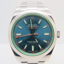 Rolex Milgauss Blue Dial Ref. 116400GV (Box&Papers)