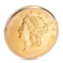 Ρολεξ (Rolex) Cellini $20 Gold Coin Pocket Watch in 18K Yellow...