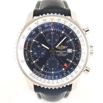 百年靈 (Breitling) Navitimer GMT Full set A24322 leather and...